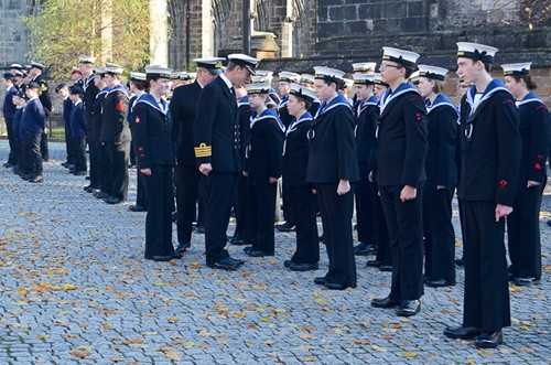 Chris Smith Naval Regional Commander for Scotland & Northern Ireland - Sea Cadets Glasgow