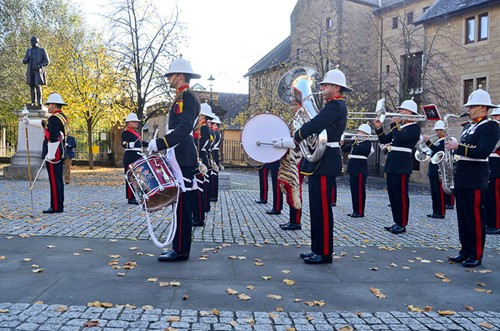 Royal Marines Band - Glasgow Cathedral 2016