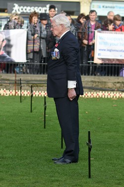 Lt General Sir Alistair Irwin Royal British Legion - Garden of Remembrance Edinburgh 2016