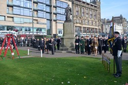 Service of Dedication Princes Street Gardens Edinburgh 2016