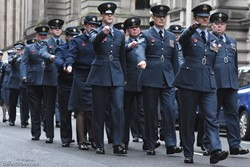 Royal Air Force (RAF) - Remembrance Sunday Glasgow 2016
