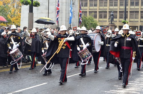 Band of the Royal Marines - George Square Glasgow Remembrance Commemoration 2016