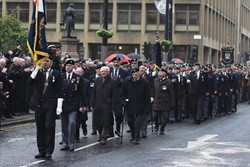 Royal Naval Association - Remembrance Sunday Glasgow 2016