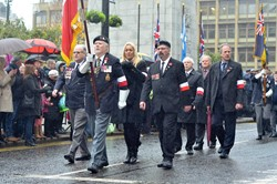 Polish Veterans - Remembrance Sunday Glasgow 2016