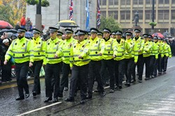 Police Scotland George Square Glasgow 2016