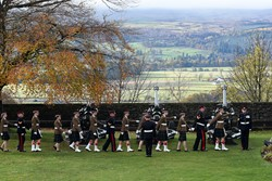 21 Gun Salute Stirling Castle - Birthday Prince Charles 2016