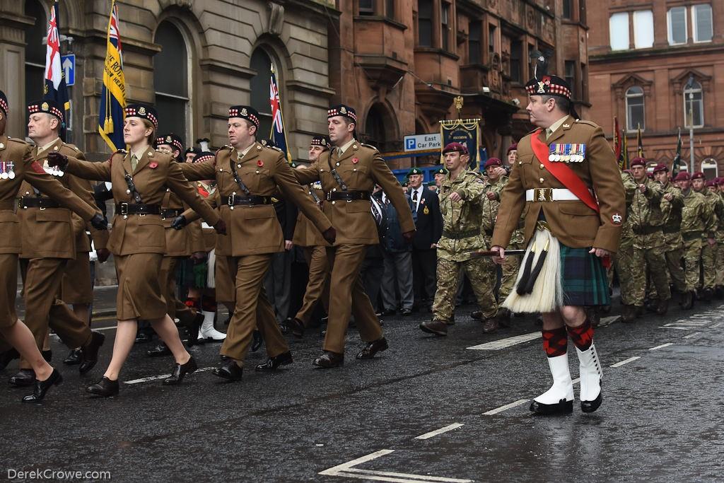 Remembrance Sunday Glasgow 2019