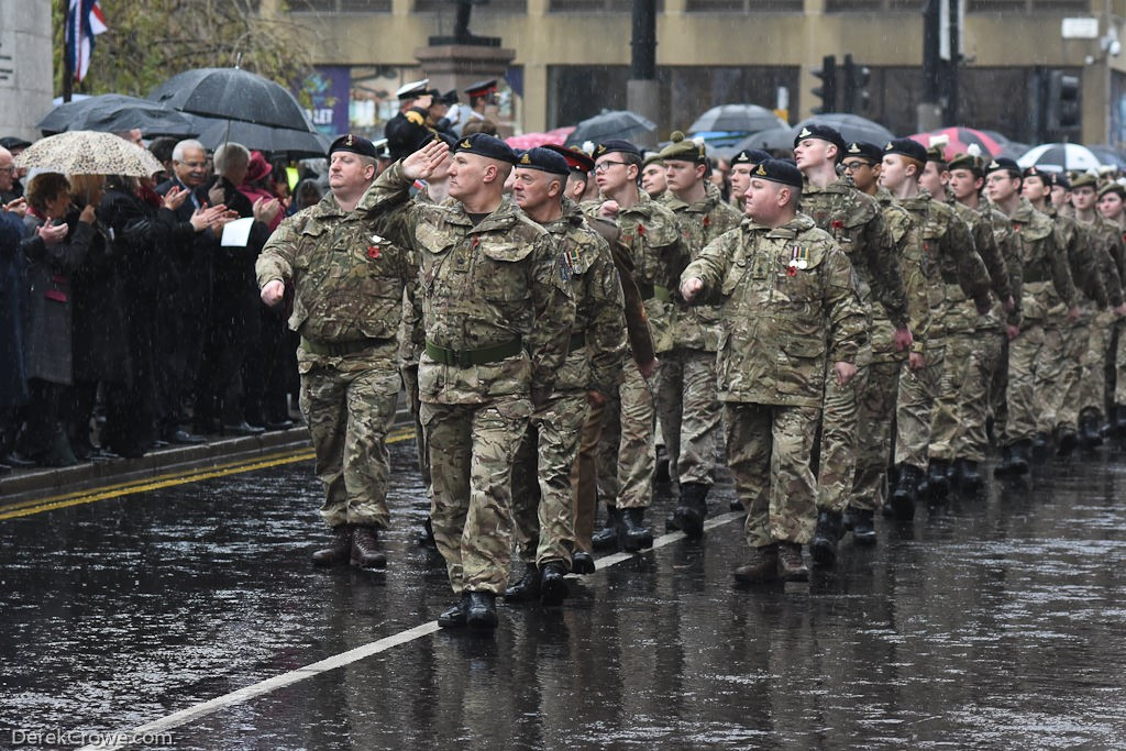 Army Cadet Force - Remembrance Sunday (Armistice Day) Glasgow 2018