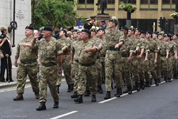 Glasgow and Lanarkshire Battalion Army Cadet Force - Armed Forces Day Glasgow 2019