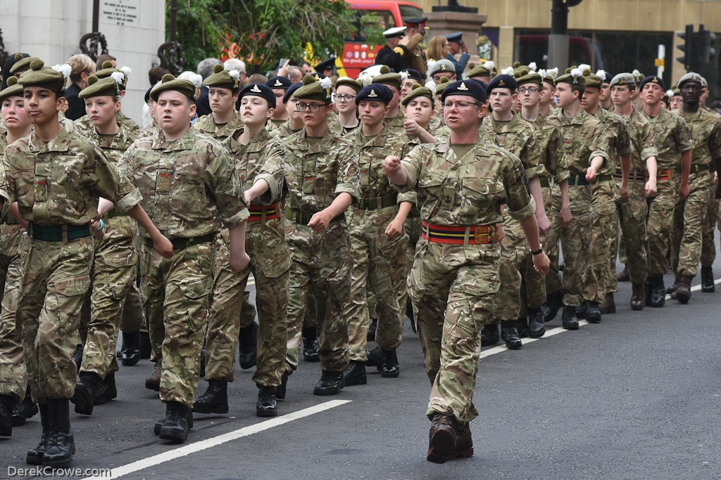 Glasgow and Lanarkshire Battalion ACF - Armed Forces Day Glasgow 2019
