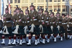 Royal Regiment of Scotland - Remembrance Sunday Glasgow 2019