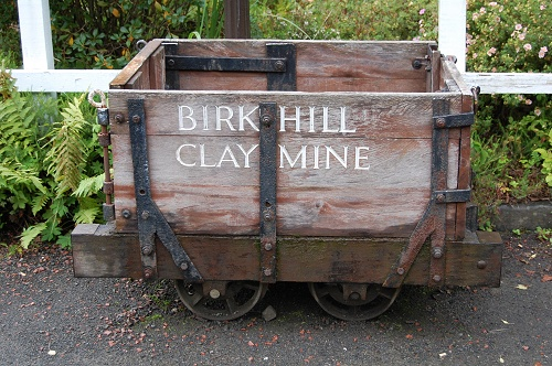 Fire Clay Mine : Birkhill fireclay mine bo ness and kinneil railway