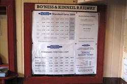 Bo'ness Station Ticket Office, Bo'ness and Kinneil Railway