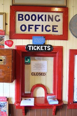 Booking Office, Bo'ness and Kinneil Railway