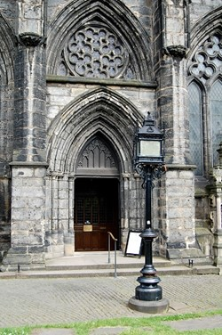 South Door, Glasgow Cathedral, Scotland
