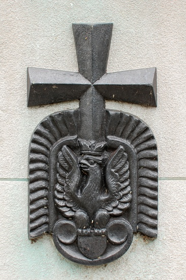 Polish War Graves - Memorial Cross - Newark, England