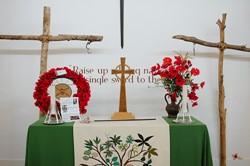 Altar at the Chapel - National Memorial Arboretum, Staffordshire