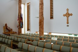 The Chapel at the National Memorial Arboretum, England