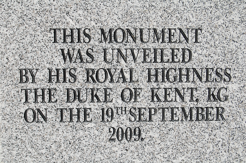 Duke of Kent - Polish Armed Forces Memorial