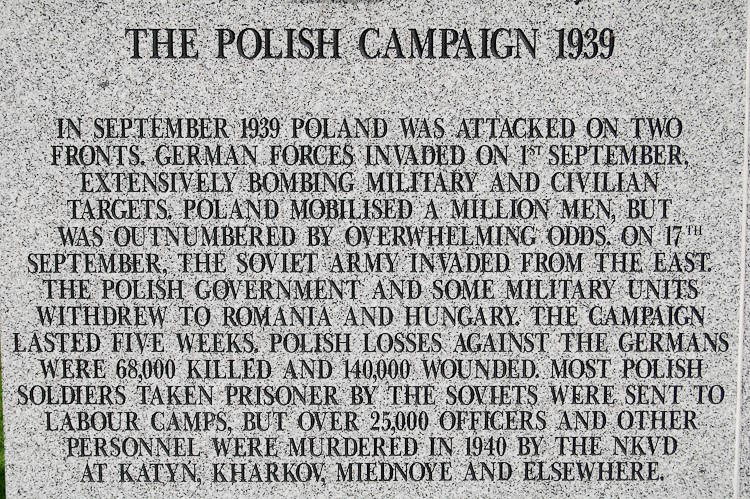 Polish Campaign 1939 - Polish Armed Forces Memorial
