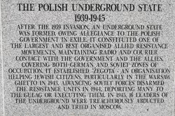 Polish Underground State - Polish Armed Forces Memorial