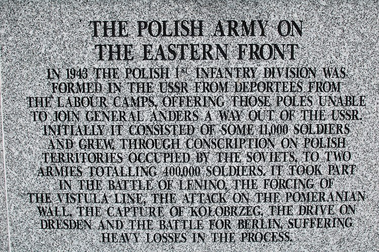 Polish Army on the Eastern Front - Polish Armed Forces Memorial