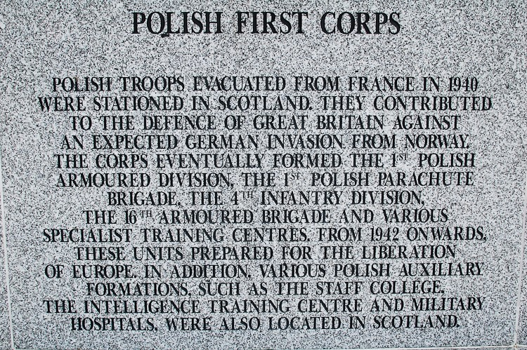 Polish First Corps - Polish Armed Forces Memorial