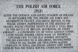 Polish Air Force  - Polish Armed Forces Memorial