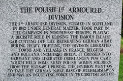 Polish 1st Armoured Division - Polish Armed Forces Memorial