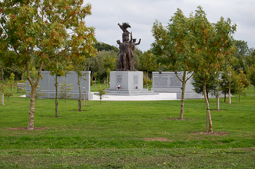 National Memorial Arboretum - Polish Armed Forces Memorial