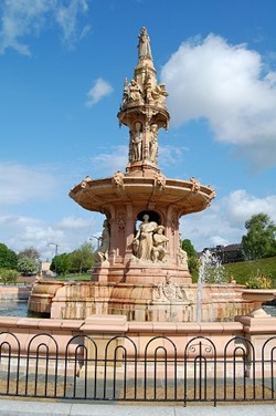 Doulton Fountain, Glasgow Green, Scotland